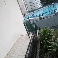 Photo taken at Sri Ayu Swimming Pool by Nicky H. on 8/3/2018