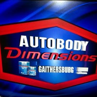 Photo taken at Autobody Dimensions - Gaithersburg by Charlie H. on 1/29/2013