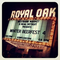 Photo taken at Royal Oak Music Theatre by Timothy H. on 1/27/2013