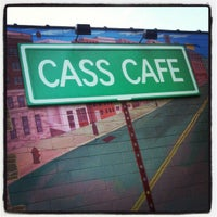 Photo taken at Cass Café by Timothy H. on 6/5/2013
