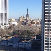Photo taken at DoubleTree by Hilton Hotel Tulsa Downtown by Mark B. on 2/13/2013
