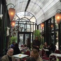 Photo taken at Schloss-Café by Timo U. on 10/10/2015