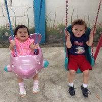 Photo taken at Mimos Park by Carlos V. on 4/2/2014