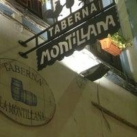 Photo taken at Taberna La Montillana by Javier J. on 2/5/2013