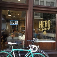 Photo taken at Hero Shop by Adriana T. on 11/1/2014