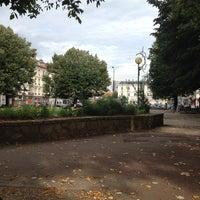 Photo taken at Place Docteur Léon Martin by Jean-Marc P. on 10/4/2013
