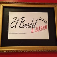 Photo taken at El Burdel A Escena by Daniela E. on 10/17/2013