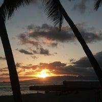 Photo taken at Kaimana Beach Park by Chris N. on 6/5/2013