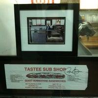 Photo taken at Tastee Sub Shop by Jason R. on 11/22/2012