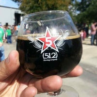 Photo taken at (512) Brewing Company by Erik A. on 10/26/2013
