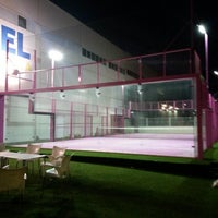 Photo taken at Padel Xirivella by Jose L. R. on 11/11/2013