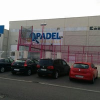 Photo taken at Padel Xirivella by Jose L. R. on 3/20/2014