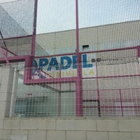 Photo taken at Padel Xirivella by Jose L. R. on 12/14/2013