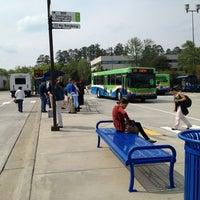 Photo taken at Triangle Transit Regional Transit Center (RTC) by Geoff G. on 4/24/2013