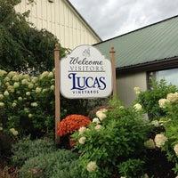 Photo taken at Lucas Vineyards by Joe S. on 9/22/2012