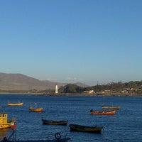 Photo taken at Puerto huasco by Christian Á. on 2/16/2013