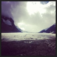Photo taken at Columbia Icefield by Sarah E. on 8/17/2013