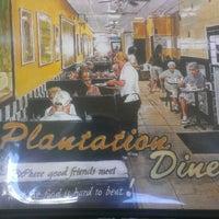 Photo taken at Plantation Diner by Bernadette E. on 6/14/2013