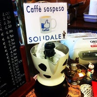 Photo taken at Caffè Dell'Accademia by Chris S. on 3/30/2014