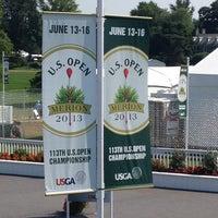 Photo taken at Merion Golf Club by Genna D. on 6/9/2013