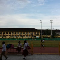Photo taken at Cebu City Sports Center by Joma L. on 9/6/2013