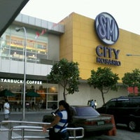 Photo taken at SM City Rosario by Rhoniel Jedh on 2/2/2013