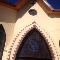 Photo taken at Iglesia Verbo Divino by Karin G. on 12/5/2014
