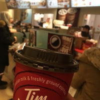 Photo taken at Tim Hortons by Noonel on 2/5/2018