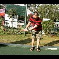 Photo taken at Mini Golf by Ran R. on 3/30/2015