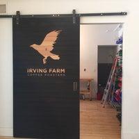Снимок сделан в Irving Farm HQ пользователем Michael F. 2/18/2016