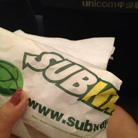 Photo taken at Subway by Michelle N. on 7/2/2013