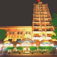 Photo taken at Oscar Saigon Hotel Ho Chi Minh City by Lam T. on 9/2/2013