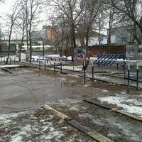 Photo taken at спортплощадка by Roman N. on 2/16/2014
