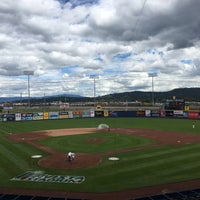 Photo taken at Avista Stadium by Melissa M. on 6/18/2017