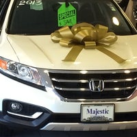 High Quality ... Photo Taken At Majestic Honda By Chris S. On 12/4/2013 ...