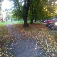 Photo taken at Parking Park Kneza Branimira by Zeljko V. on 10/18/2013
