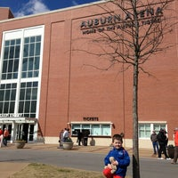Photo taken at Auburn Arena by MARK T. on 2/16/2013