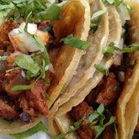 Photo taken at Tacos El Charrito by Tai 0. on 12/31/2012