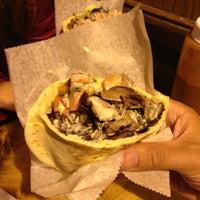 Photo taken at Mamoun's Falafel by juan m f. on 5/2/2013