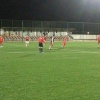 Photo taken at Abdurrahman Temel Futbol Sahası by Serhat Ş. on 2/6/2013