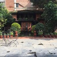 Photo taken at Kantipur Temple House by E V. on 10/5/2016