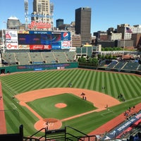 Photo taken at Progressive Field by Robert R. on 5/13/2013