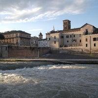 Photo taken at Pista Ciclabile argine del Tevere by Daniele L. on 6/24/2014