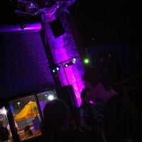 Photo taken at Voltage Lounge by Angela G. on 3/31/2013
