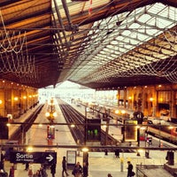 Photo taken at Paris Nord Railway Station by Beto G. on 2/8/2013