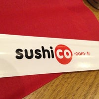Photo taken at SushiCo by Sukru T. on 12/15/2012