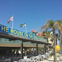 Photo taken at The House On The Beach Restaurant by Margarita R. on 5/25/2013