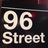 Photo taken at MTA Subway - 96th St (1/2/3) by Erika H. on 5/17/2013