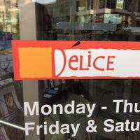 Photo taken at Delice European Bakery & Cafe by Erika H. on 12/11/2015