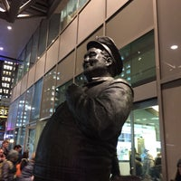 Photo taken at Ralph Kramden Statue by Erika H. on 12/7/2016